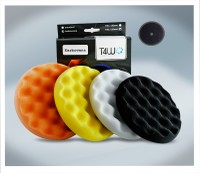 T4W Velcro polishing pad sponge ''corrugated'' 150x25 mm (59167)