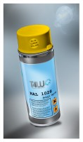 T4W Yellow spray paint RAL 1028 Melon Yellow (59296)