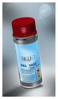 T4W Red spray paint RAL 3002 Karminrot (59282)