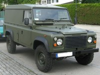 T4W Lakier militarny Land Rover mat 1,2L acryl (Land Rover)