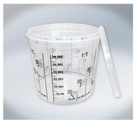 T4W Mixing Cups with graduation 350ml (59459)