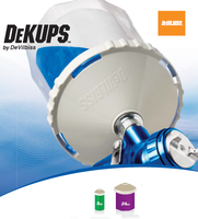 DEVILBISS DeKUPS Disposable paint cups system (DPC-607)