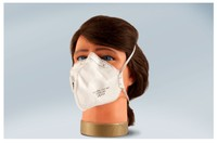 T4W Disposable mask with valve / folded (05744)