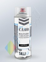 T4W PRO CAMO Military paint LAND ROVER Olive spray / 400ml  (ProCamoLandRover1xSp)