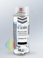 T4W PRO CAMO Military paint SAHARA 1941 DAK spray / 400ml  (ProCamoSahara1xSp)
