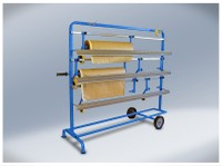 T4W 3P Film- paper roll dispenser rack / 5 rolls (59234) (59234)